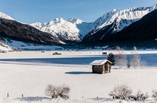 Almchalet Sagstaller Pfitsch Winter