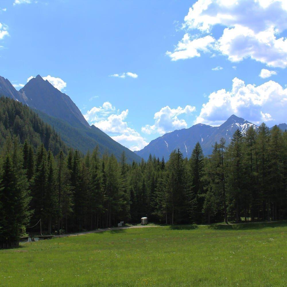 Almchalet Sagstaller - Urlaub im Gebirge in Südtirol
