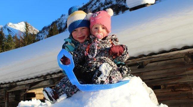 Almchalet Sagstallhof - Inverno meraviglioso
